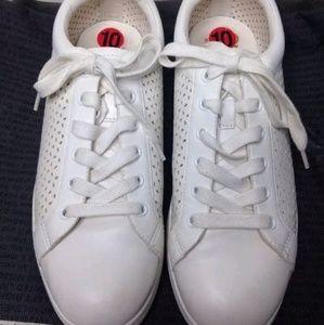 SAM EDELMAN CIRCUS white sneakers shoes 10